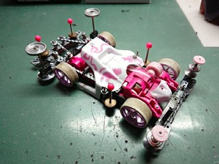 FMARサンショ ホワイト・ピンク
